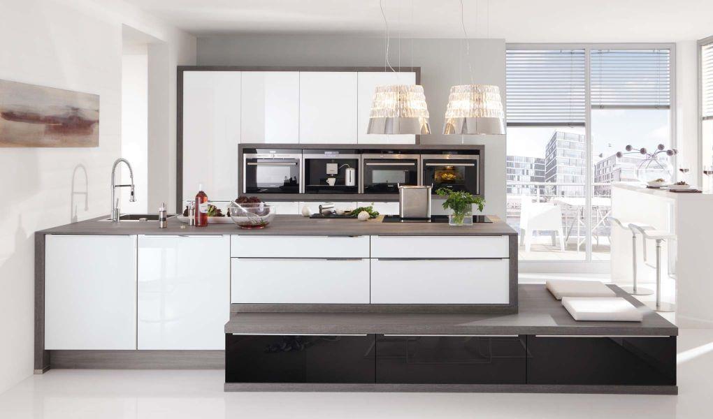 Die Küchenfront GLAS TEC PLUS von Nolte Küchen
