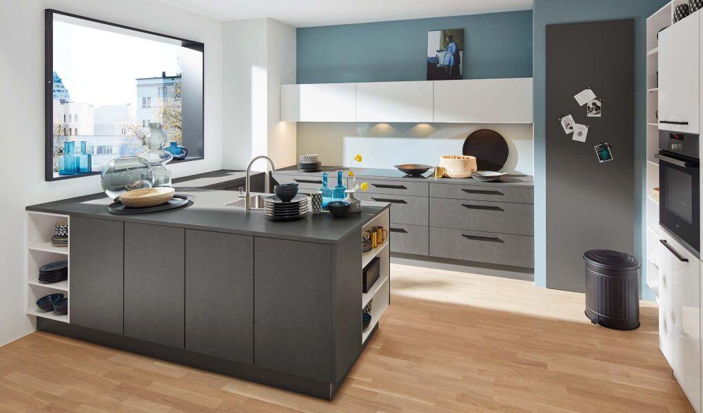 Die Küchenfront METAL von Nolte Küchen
