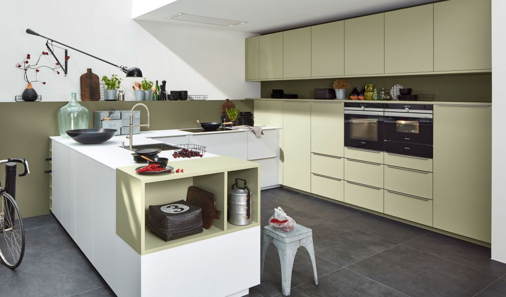 Die Küchenfront SOFT LACK von Nolte Küchen