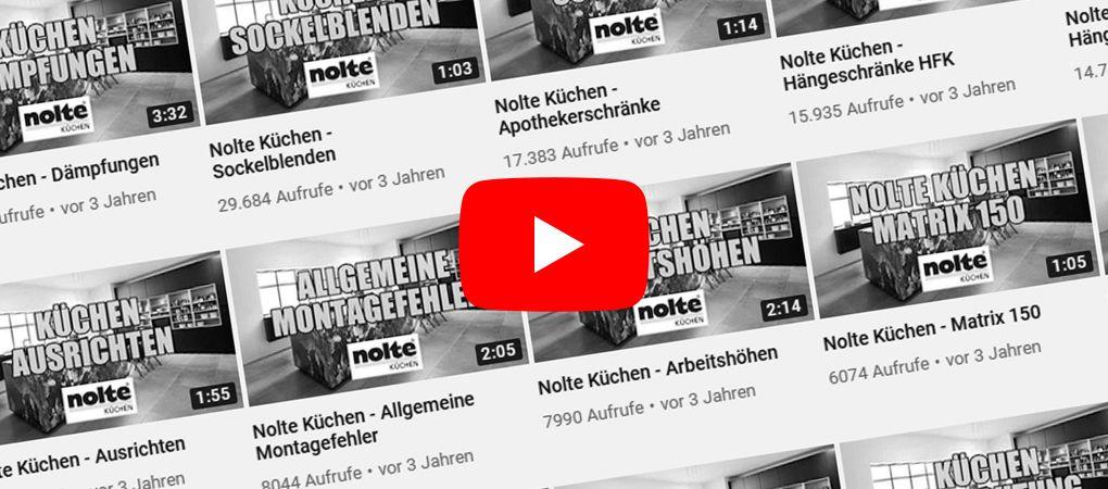 Nolte Küchen: Montagevideos
